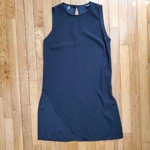 TOPSHOP black sleeveless dress